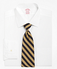 Traditional Fit Spread Collar Dress Shirt