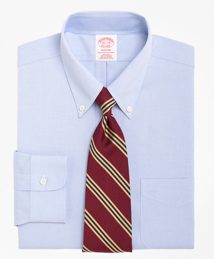 Madison Classic-Fit Dress Shirt, Non-Iron Button-Down Collar