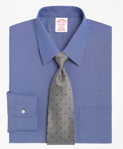 Non-Iron Madison Fit Point Collar Dress Shirt