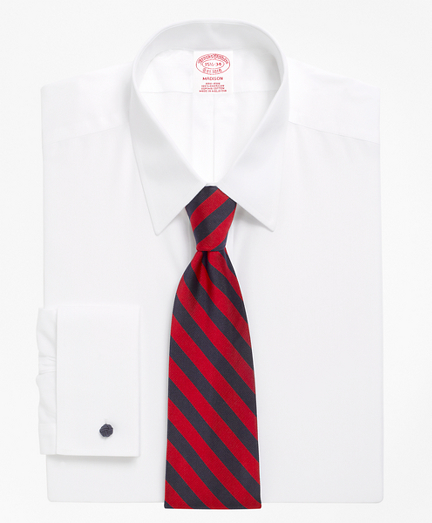 Madison Classic-Fit Dress Shirt, Non-Iron Point Collar French Cuff