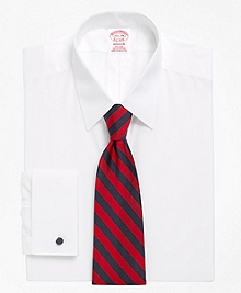 Non-Iron Madison Fit Point Collar French Cuff Dress Shirt