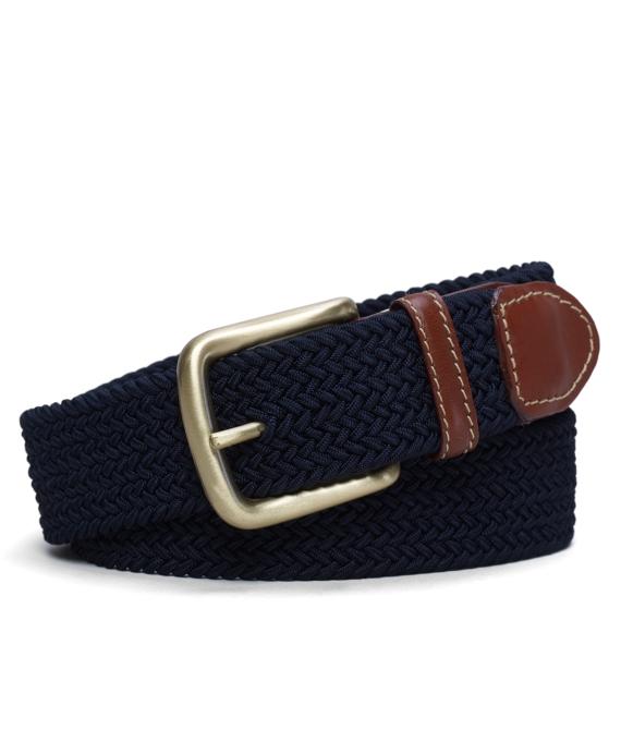 Surcingle Woven Belt Navy