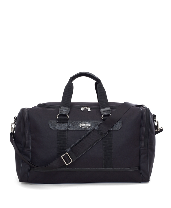 Nylon Duffel Bag Black