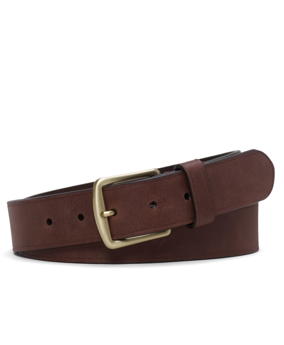 Leather Chino Belt Brown