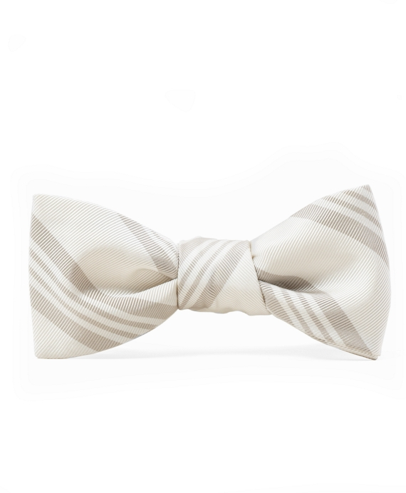Black Fleece Framed BB# 10 Stripe Bow Tie Khaki