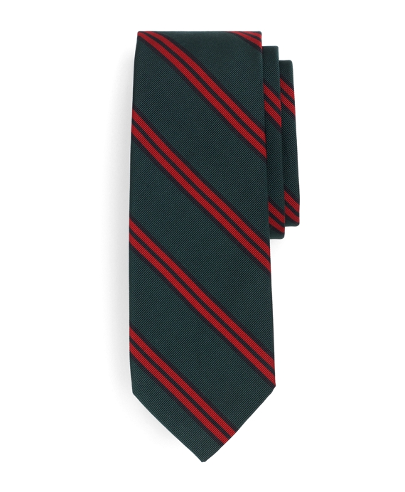 Navy, Green and Red BB#10 Tie Navy-Red-Green