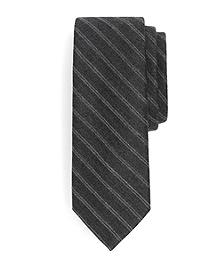 Herringbone Stripe Wool Tie