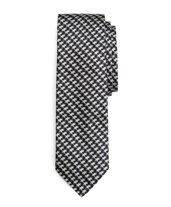 GREY WEAVE TIE Grey-Navy