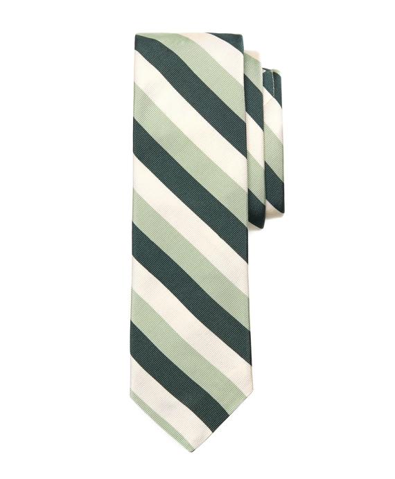 Dark Green-Light Green-Ivory