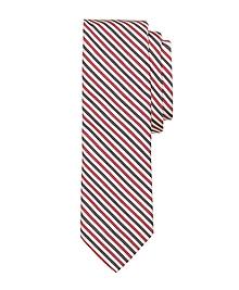Red Mini Stripe Tie
