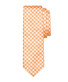 Small Gingham Tie