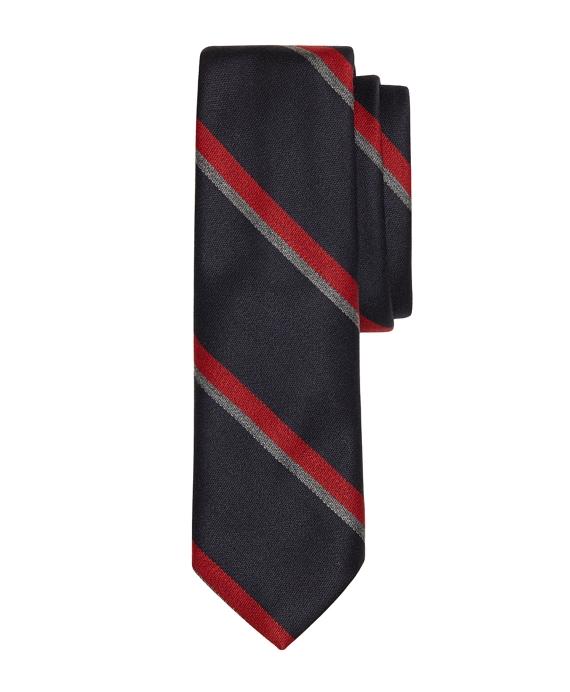 Repp Stripe Tie Navy