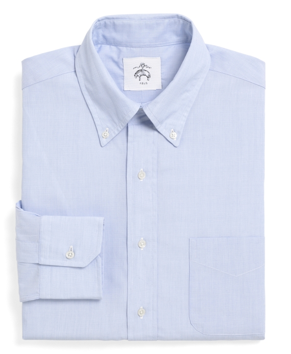 End-on-End Button-Down Shirt Blue