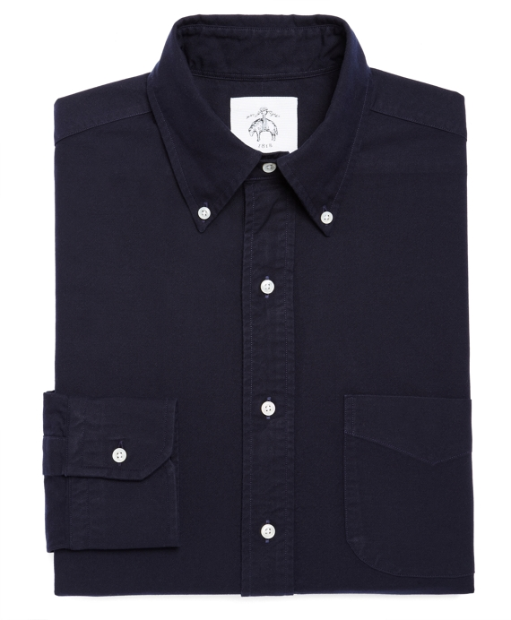 OXFORD BUTTON-DOWN SHIRT Navy