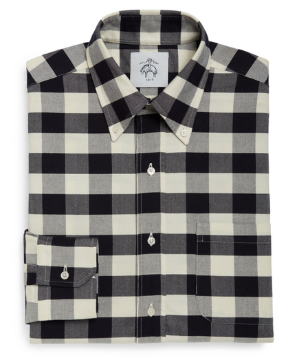 Maxi Gingham Button-Down Shirt