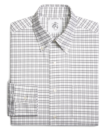 Tattersall Oxford Button-Down Shirt