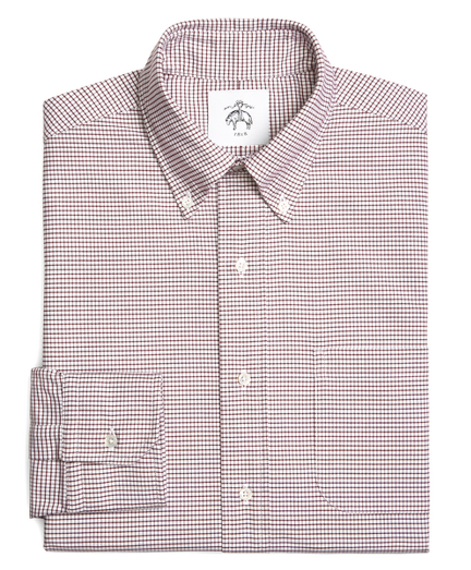 Mini Tattersall Oxford Button-Down Shirt