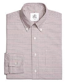 Mini Tattersall Oxford Button-Down Shirt