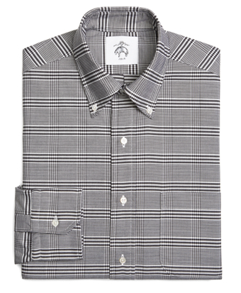 Prince of Wales Oxford Button-Down Shirt
