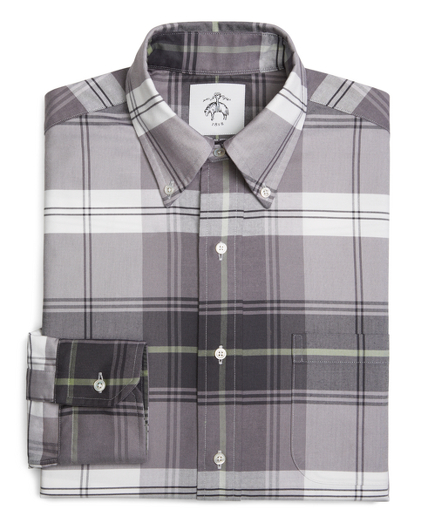 Tartan Oxford Button-Down Shirt