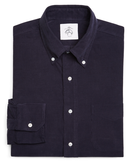 CORDUROY SHIRT Navy