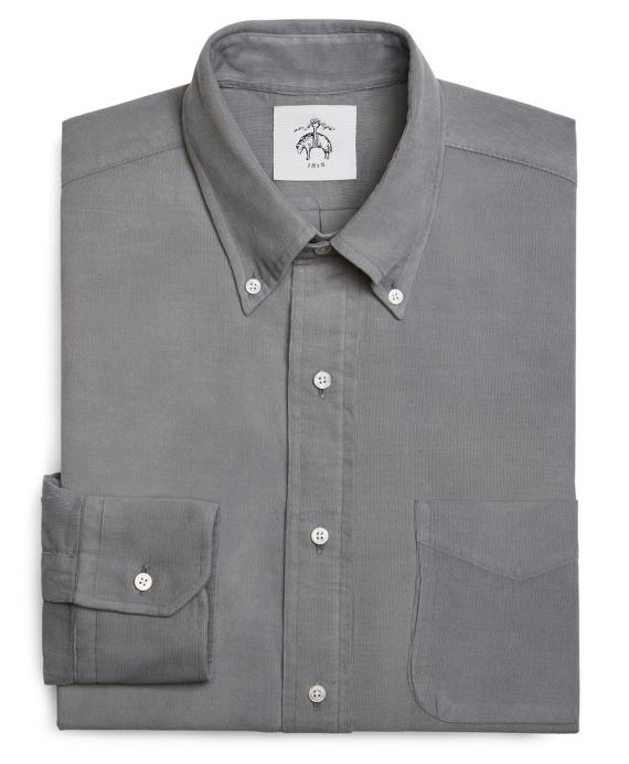 CORDUROY SHIRT Grey