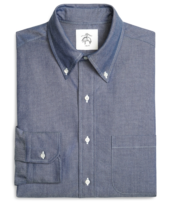 OXFORD BUTTON-DOWN SHIRT Indigo