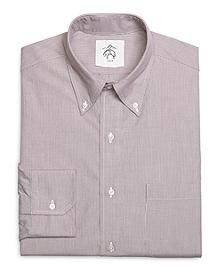 Pinstripe Broadcloth Button-Down Shirt