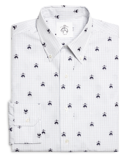 Emblem Button-Down Shirt