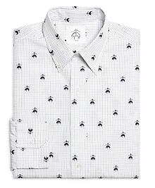 Emblem Button-Down Shirt