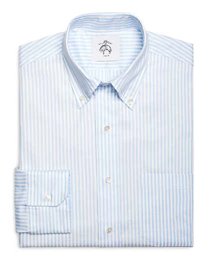 Blue Stripe Button-Down Shirt