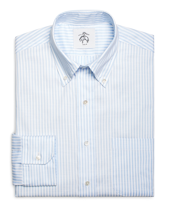 Blue Stripe Button-Down Shirt Blue-White