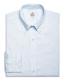 Blue Stripe Button-Down Shirt