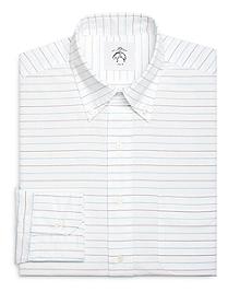 Horizontal Stripe Button-Down Shirt