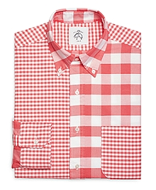 Fun Gingham Button-Down Shirt