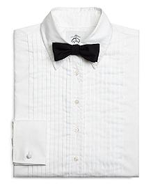 Cotton Pique Tuxedo Shirt
