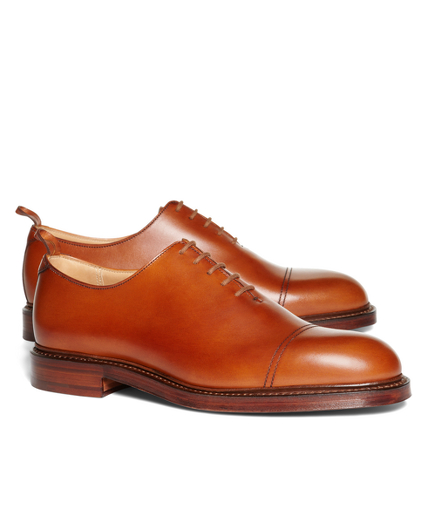 CALFSKIN CAP TOE SHOES