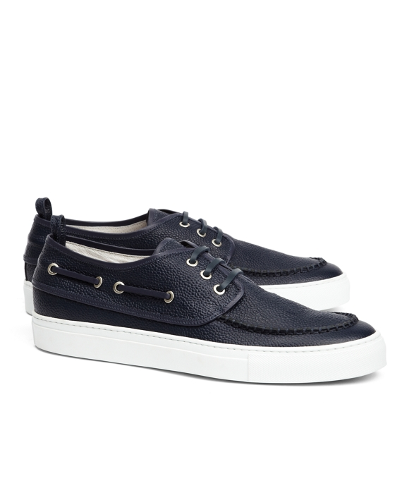 NAVY BOAT SHOES Navy