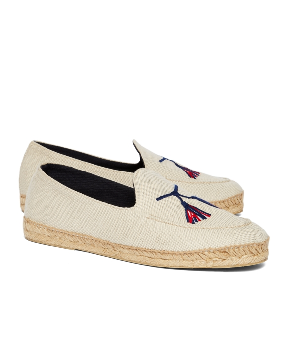 STUBBS AND WOOTTON FOR BLACK FLEECE ESPADRILLES Natural