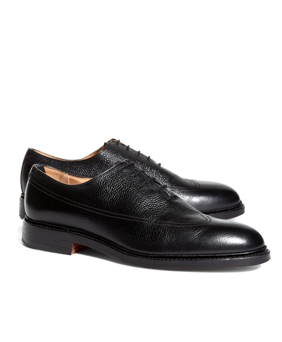 CALFSKIN OXFORDS Black