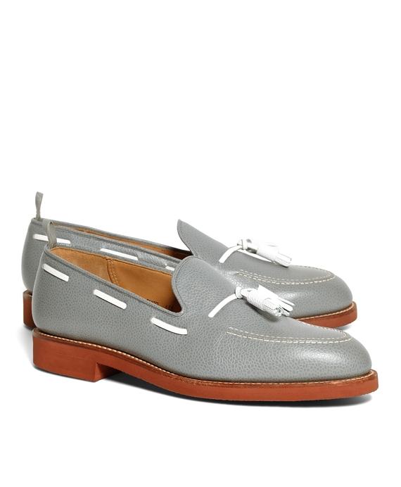 Tassel Loafers Grey