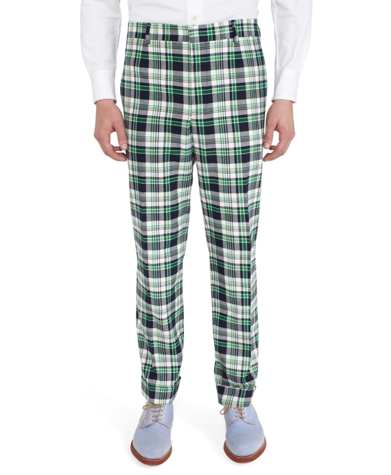Madras Belt Loop Trousers Multi