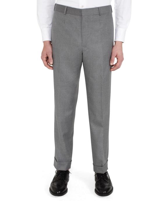 Grey Tab Trousers Grey