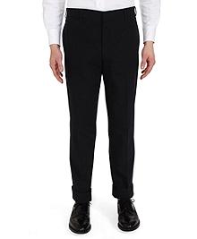Seersucker Belt Loop Trousers
