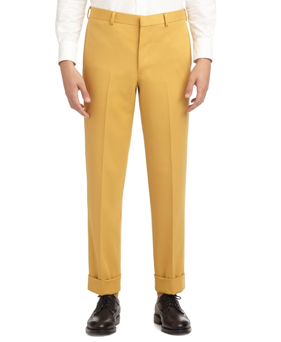 GOLD BELT LOOP TROUSERS GOLD