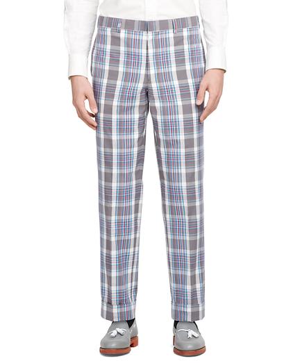Madras Belt Loop Trousers
