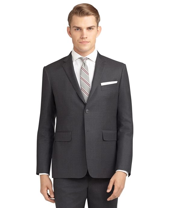 Black Fleece Classic Suit Grey