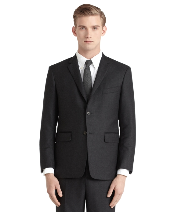 Twill Classic Suit Charcoal