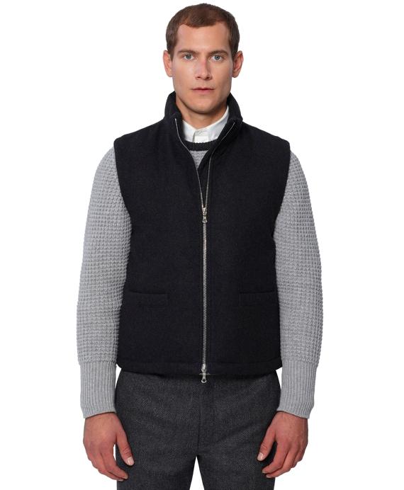Cashmere Down Vest Grey