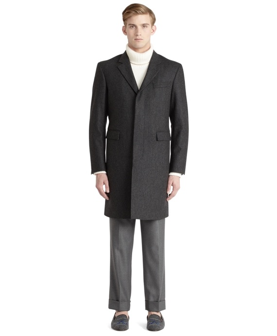 Chesterfield Overcoat Charcoal